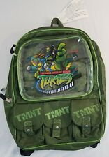 Teenage Mutant Ninja Turtles - Fast Forward 2007 Book Bag Backpack Free Shipping