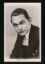 Film Theatre EDWARD G ROBINSON c1920/30s? RP PPC Picturegoer #658