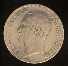 5 Francs leopold i 1851