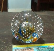 """2 1/2"""" Caithness paperweight - Reflections '92 Collectors Club"""
