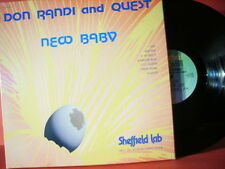 """SHEFFIELD LAB 12 DON RANDI AND QUEST """"NEW BABY""""(DIRECT-DISC-RECORDING/MINT)"""