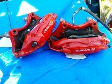 2016 15 16 2015 Dodge Challenger CHARGER SRT Hellcat Brembo Rear Calipers RED