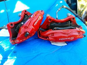 REAR 2016 15 16 2015 Dodge Challenger CHARGER SRT Hellcat Brembo RED Calipers