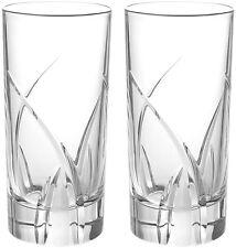 RCR Cristal da Vinci Grosseto Highball Vasos 36cl (Par) Nuevo