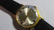 Mens gold toned Bolivia Presidential Mechanical watch new watch strap