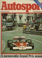 Autosport December 22nd 1977 *Dublin Bay GP & Bandama Rally & New Lotus 79*