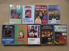Beach Boys, Monkees, Donovan, Roy Orbison, etc: nine cassettes