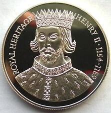 Falkland 1996 Henry II 2 Pounds Silver Coin,Proof