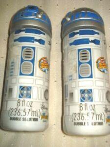 Disney Star Wars Super Miracle Bubbles  R2-D2 8fl oz Lot of 2