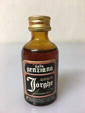 Mignon Miniature Amaro Jorghe Il Genzianino 29cc 35% Vol A/37