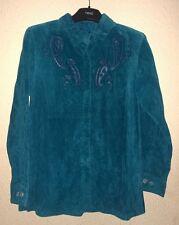 BNWT lovely BETH TERRELL Leather Ladies  Jacket - MEDIUM