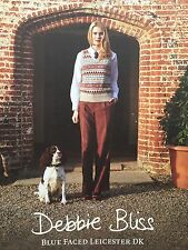 Debbie Bliss - Blue Faced Leicester DK - Pattern Book - Department Store Return