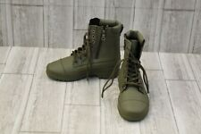 DC Amnesti TX Lace Up Boots - Women's Size 5 - Olive NEW!
