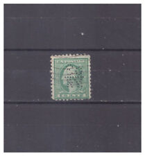 US Perfins So/-/RY. pattern #S204A or 204B   1 stamps