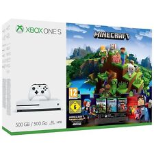 Xbox One S 500gb Minecraft Complete Adventure Console Brand New & Sealed UK PAL