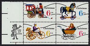 #1418c 6c Christmas Toys, Zip Block [LL], **ANY 4=FREE SHIPPING**