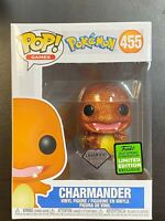Funko POP Pokemon Charmander Diamond ECCC Exclusive #455