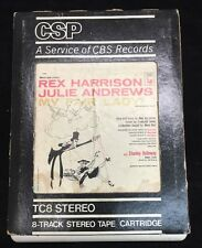 8 Track Stereo My Fair Lady Original Cast Soundtrack Columbia-Harrison & Andrews
