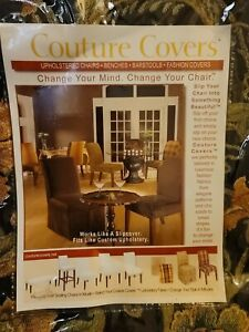 Couture Chair Slip Cover Floral Kitchen  Parsons Chair New Sterling Industries