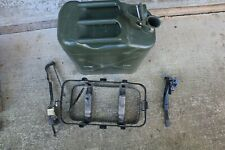 5 Gallon Green Jerry Can with Spout, Holder and Tie-Down