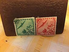 2 Tannu Tuva 1920s Diamond Stamps 5 And 15 Kop