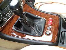 ALFA ROMEO 159 SW jtd cuffia leva cambio in vera pelle leather nera noir