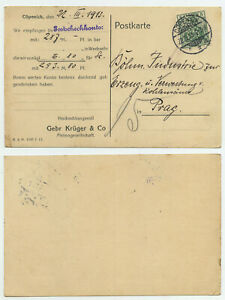 79629 - Perfins GKC = Gebr. Krüger & Co. - Mi.Nr. 85 - Cöpenick 22.3.1913