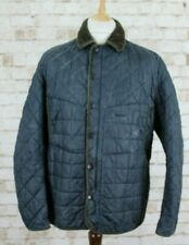 BARBOUR Tatton Blue Quilted Jacket size XL