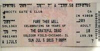 1-Grateful Dead Fare Thee Well Tour July 5th, 2015 Soldier Field Chicago 50yrs