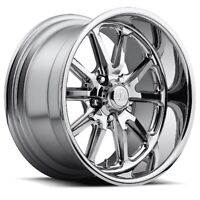 18x8 ET1 US Mag U110 Rambler 5x120.7 Chrome Wheels (Set of 4)