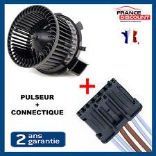 Pulseur d'air ventilateur + connectique faisceau XSARA PICASSO PEUGEOT 206 307