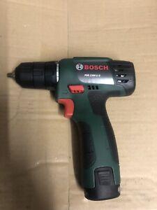 Bosch Akku Bohrschrauber PSR 1200 LI-2 Akkuschrauber Schrauber