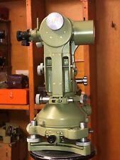 Autocollimation Theodolite Wild T2 Swiss Surveyor With 2 Eyepieces