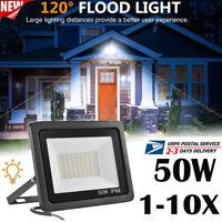 50W Led Flood Light Outdoor Security Garden Yard workshops Spotlight Lamp IP66