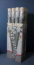 SPOSI 12 SPARACORIANDOLI BIANCO da 60 cm. FESTA PARTY COMPLEANNO STOCK PROMO