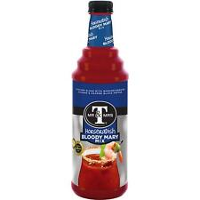 Mr. & Mrs. T Horseradish Bloody Mary Mix, 1 L bottles (Pack of 12)