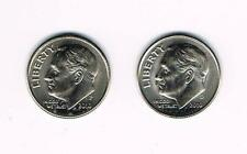 2010 P&D ROOSEVELT DIMES - BRILLIANT UNCIRCULATED FROM BANK ROLLS