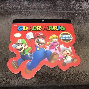 SUPER MARIO Official STICKERS 300 New Nintendo Rare Oop Luigi Princess Peach Boo