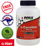 Now Foods L-Carnitine 500 mg 180 Vegan Capsules Non-GMO Dietary Supplement
