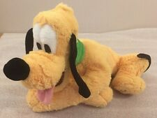 "PLUTO beanbag plush Walt Disney World / Disneyland 10""L"