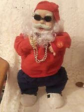 Vintage Hip Hop Santa Claus Rare Rapping, Dancing, Animated Novelty Inc. Works