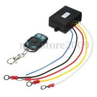 12V 15m 50ft Wireless Winch Remote Control For Truck Jeep SUV ATV Warn Ramsey