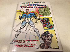 SIGNED/NUMBERED 45/400 KERRY GAMMILL'S DRAWING MONSTERS & HEROES FOR FILM COMICS