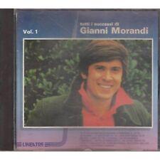 GIANNI MORANDI - Tutti i successi vol.1 - CD 1990 USATO OTTIME CONDIZIONI