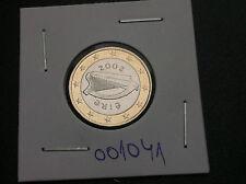 Ireland coin - 1 euro 2002 Bi - Metalic !