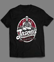FRIDAY THE 13TH *JASONS DELI OLDSKOOL CUSTOM ARTWORK* Men's T-Shirt *FULL FRONT*