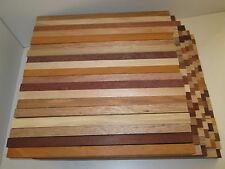 40 Penblanks 40x1,5x1,5 cm Drechselholz Holz für Schmuckherstellung Bastelholz