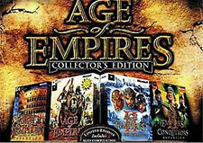Age of Empires Collectors Edition alle 4 Teile und Soundtrack