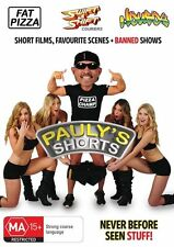 Pauly's Shorts (DVD) NEVER BEFORE SEEN STUFF!! + BANNED SHOWS *NEW & SEALED