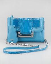 NWT Diane Von Furstenberg $375 New Harper Charlie Leather & Snake Crossbody DVF